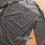 เสื้อผ้าเกาหลี พร้อมส่งเซ็ตเสื้อและกระโปรงลายดอกไม้จุดสีขาวดำสไตล์โบฮีเมียน thumbnail 15