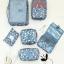 "TB59 กระเป๋าใส่อุปกรณ์อาบน้ำ ""Pattern Toiletry Pouch"" thumbnail 11"