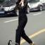 เสื้อผ้าเกาหลี พร้อมส่ง Luxury Black Lace Jumpsuite - Jumpsuite thumbnail 5