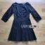 Brady Sweet & Smart Embellished Black Cotton Pleated Dress thumbnail 6