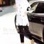 เสื้อผ้าเกาหลี พร้อมส่งเชิ๊ตยาวสีขาว งานปักโทนดำ/แดง รูปเล็กๆอย่างปราณีต thumbnail 3