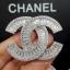 พร้อมส่ง เข็มกลัด/จี้ แบรนด์ Chanel งานเพชร CZ แท้ thumbnail 2