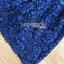 ชุดเดรสเกาหลี พร้อมส่งเดรสเปิดไหล่ผ้าลูกไม้สีน้ำเงินเข้มตกแต่งริบบิ้นสีดำ thumbnail 15