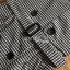 เสื้อผ้าเกาหลีพร้อมส่ง เซ็ตเสื้อยืดสีดำทับด้วยเดรสลายตารางต thumbnail 9