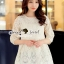 เสื้อผ้าเกาหลี พร้อมส่งเสื้อทรงสวยหวานสไตล์สาวเกาหลี thumbnail 6