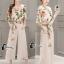 เสื้อผ้าเกาหลี พร้อมส่ง Botanica Top + Pant Set thumbnail 9