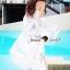 เสื้อผ้าเกาหลี พร้อมส่งSeoully Ivora Lace Long Outer thumbnail 6