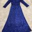 ชุดเดรสเกาหลี พร้อมส่งlong dress คอวี แขนยาวปักเลื่อมทั้งตัว thumbnail 11