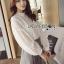 เสื้อผ้าเกาหลี พร้อมส่งเสื้อผ้าลูกไม้สีขาวสไตล์วินเทจสุดหวาน thumbnail 6