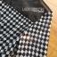 ชุดเดรสเกาหลี พร้อมส่งเดรสยาวผ้าชีฟองพิมพ์ลายตารางสีขาว-ดำ thumbnail 8