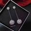 พร้อมส่ง APM Diamond Earring ต่างหูเพชรงานเกรดไฮเอน thumbnail 4