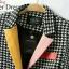เสื้อผ้าแฟชั่น พร้อมส่งเสื้อสูทรแขนยาวลายชิโนริสไตล์สาวเกาหลี thumbnail 4