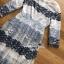 ชุดเดรสเกาหลี พร้อมส่งเดรสผ้าลูกไม้สลับลายทางโทนสีฟ้า-น้ำเงิน thumbnail 13