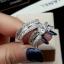 พร้อมส่ง Diamond Ring งานเพชร CZ แท้ ดีไซส์เพชรปาเกตเพชรชูไซว์ 1 กะรัต thumbnail 1