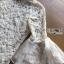 ชุดเดรสเกาหลี พร้อมส่งเดรสผ้าลูกไม้ทรงคอสูงแขนระบาย thumbnail 19