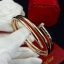 พร้อมส่ง Cartier Bangle กำไลคาร์เทียตะปูพัน 2 รอบงาน thumbnail 3