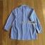เสื้อผ้าเกาหลี พร้อมส่งเชิ้ตลายทางสีฟ้าปักลายดอกไม้ thumbnail 14