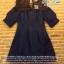 เสื้อผ้าเกาหลี พร้อมส่ง เดรสแบรนด์เนมลุคเรียบหรู thumbnail 12
