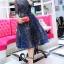 ชุดเดรสเกาหลี พร้อมส่งGalaxy Diamond Luxury Dress thumbnail 3
