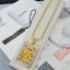 พร้อมส่ง สร้อยคอมังกรล้อมเพชร งานทอง 5 ไมครอน thumbnail 4