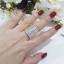 พร้อมส่ง Diamond Ring งานเพชรสวิส เพชร 7 แถวงานชุบ 5 ไมครอน thumbnail 6