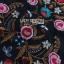 ชุดเดรสเกาหลีพร้อมส่ง เดรสแขนกุดผ้าคอตตอนสีดำปักลายดอกไม้ส thumbnail 8