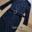เสื้อผ้าเกาหลี พร้อมส่งจัมป์สูทสีดำตกแต่งลูกไม้สไตล์สมาร์ทแคชชวล thumbnail 13