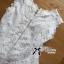 เสาื้อผ้าเกาหลี พร้อมส่งเสื้อแขนกุดคอสูงผ้าลูกไม้ตกแต่งชาย thumbnail 14