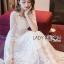 Eves Princess Style White Lace Dress thumbnail 3