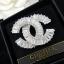 พร้อมส่ง Chanel Brooch เข็มกลัดชาแนล เพชรซีกประดับด้วยเพชรกลมเล็ก thumbnail 6