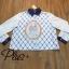เสื้อผ้าแฟชั่นเกาหลีพร้อมส่ง เชิ้ตแขนยาว ผ้า cotton Polyester thumbnail 10