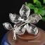 พร้อมส่ง Diamond Brooch เข็มกลัดเพชรประดับมุกทรงดอกไม้ thumbnail 4