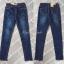 เสื้อผ้าแฟชั่นพร้อมส่ง กางเกงยีนส์ขายาว ดีไซร้เรียบๆแต่งตอกหมุดช่วงปลายขา thumbnail 9