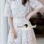 เสื้อผ้าเกาหลี พร้อมส่ง Circlely Princess Lace Set thumbnail 3