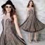 ชุดเดรสเกาหลี พร้อมส่งJohana Luxury Lace Dress thumbnail 7