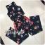 เสื้อผ้าเกาหลีพร้อมส่ง Setงานแนวทอปปิคอลแบบเข้มๆ thumbnail 5