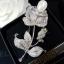 พร้อมส่ง Rose Pearl & diamond Broochเข็มกลัดดอกกุหลาบ thumbnail 1