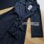 เสื้อผ้าเกาหลี พร้อมส่งสูทเดรสตกแต่งริบบิ้นสไตล์มินิมัล thumbnail 15