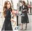 เสื้อผ้าเกาหลี พร้อมส่งเสื้อคลุมแขนยาวผ้าcottonสไตล์สมาร์ทแคชชวล thumbnail 6