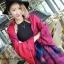 เสื้อผ้าเกาหลี พร้อมส่งผ้าคลุมไหล่ลายหอไอเฟล เนื้อผ้าสวยมาก thumbnail 1