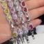 พร้อมส่ง Diamond Bracelet สร้อยข้อมือเพชรงานเกรดไฮเอน thumbnail 2