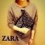 ZARA สะพายข้าง ประดับหมุด สุด Chic thumbnail 2