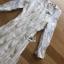 ชุดเดรสเกาหลี พร้อมส่งเดรสผ้าทูลล์ปักลายดอกไม้สีทองสง่าพร้อมสร้อยคอมุก thumbnail 11