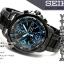 นาฬิกา Seiko Chronograph Solar Watch V172 SSC079 สายสแตนเลสรมดำ thumbnail 12