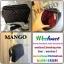 กระเป๋าสะพายข้างหรือสะพายเฉียง หนังพียูลายตารางตอกหมุดเบาๆเก๋ๆสายโซ่ หัวซิปปั้ม โลโก้ MNG thumbnail 4