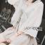เสื้อผ้าเกาหลี พร้อมส่งเสื้อคลุมทูนิกผ้าลูกไม้สไตล์ลำลอง thumbnail 4
