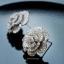 พร้อมส่ง Chanel earring งานเพชร CZ แท้ฝังอย่างดี thumbnail 4