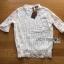 เสื้อผ้าเกาหลี พร้อมส่งเสื้อลูกไม้สีขาวผ้านิ่มใส่สบาย thumbnail 16