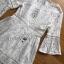 ชุดเดรสแฟชั่น พร้อมส่งเดรสผ้าลูกไม้สีขาวสไตล์เฟมินีนเรียบง่าย thumbnail 9