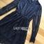 ชุดเดรสเกาหลี พร้อมส่ง เดรสผ้าลูกไม้ตัวสั้นสีดำสไตล์คลาสสิก thumbnail 8